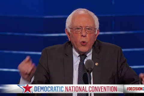 Sanders: Hillary Clinton Must Become the Next President of the United States