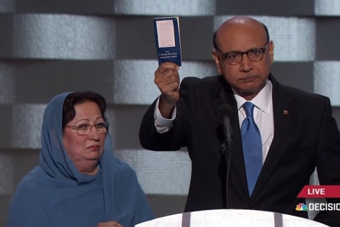 Father of slain Muslim US soldier to Trump: You have sacrificed nothing!