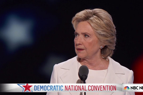 Clinton: 'I'm proud to stand by our allies in NATO'