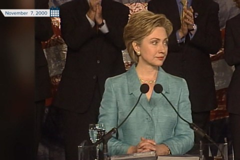 Flashback: Hillary Clinton as Senator