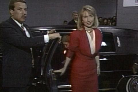 Watch Hillary Clinton's Grand Entrance at 1992 DNC