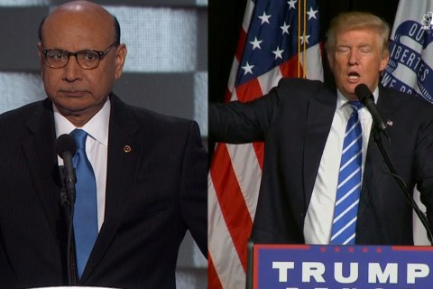 Trump, Slain Soldier's Dad Khizr Khan Share Views on Muslims