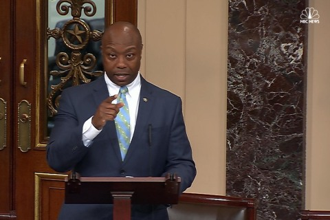 Senate's Only Black Republican Discusses His Encounters With Racism