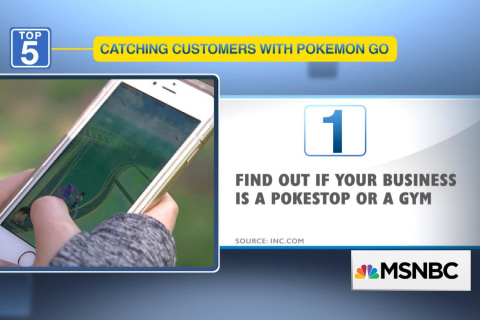 5 ways Pokemon Go can help you get customers