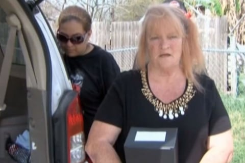 'Whites Only' Cemetery Turns Away Widow