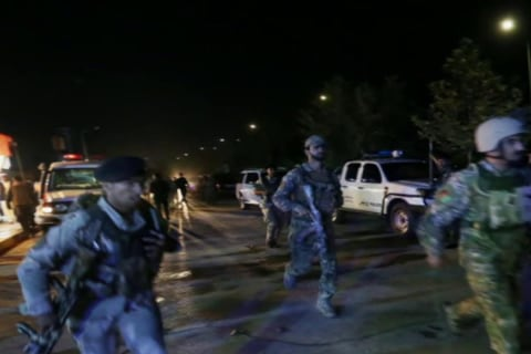 Police respond to 'complex attack' in Kabul