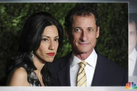 Huma Abedin, Top Clinton Aide, Separates From Husband Anthony Weiner