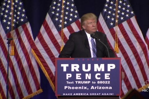 Trump: U.S. Has Right to Choose Immigrants That 'Love Us'