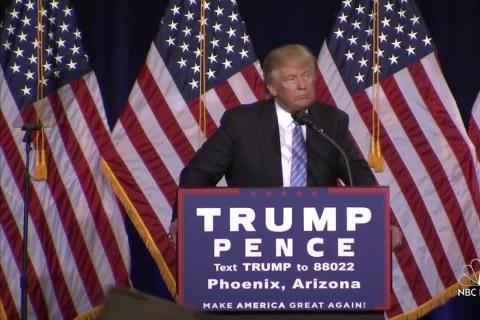 Trump Touts Technology Plan for Border Wall