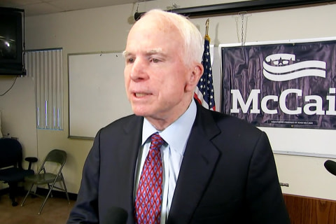 McCain on Opponent Talking His Age: I'll Let the People of Arizona Decide