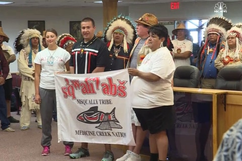 More Native American Tribes Join Standing Rock Sioux in Pipeline Protest