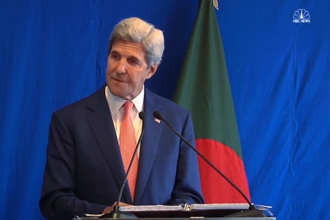 Kerry: ISIS Linked to Eight Other Groups Around World