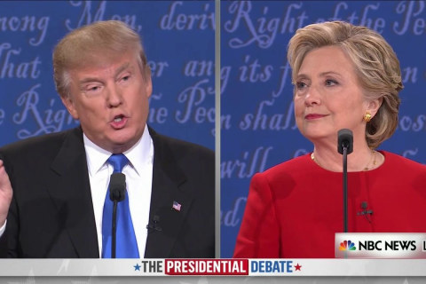 Trump and Clinton Spar over ISIS