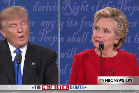 Clinton to Trump: I Prepared for Debate - and Presidency