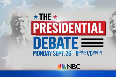2016 Presidential Debate: Trump and Clinton