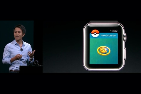 Apple Watch Gets 'Pokemon Go' So Users Can Catch 'Em All