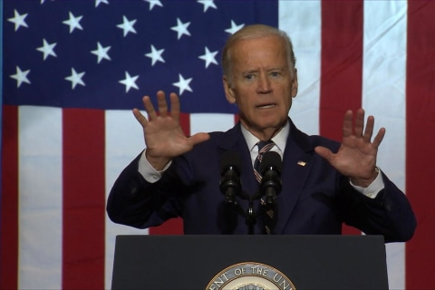 Joe Biden Wants to Know 'What in the Hell' Donald Trump Is Talking About