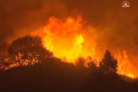 California Wildfire Burns at Least 1,000 Acres