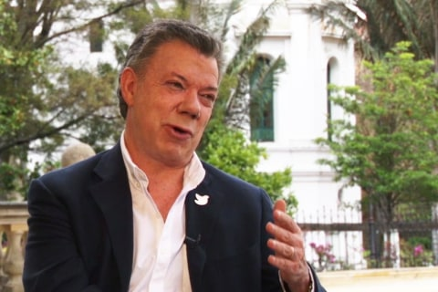 Colombia Pres. Manuel Santos 'Confident' Voters Will Approve Peace Deal