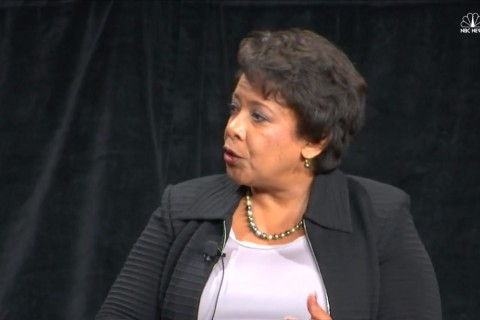 Atty. General Lynch Encourages Young Women To 'Let Your Voice Be Heard'