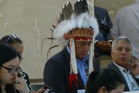 Standing Rock Sioux Tribe Takes Pipeline Fight to U.N.