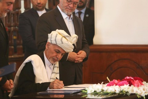 Afghan President Pens Pact With Infamous Warlord