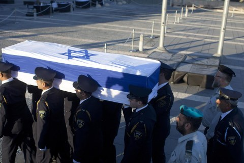 Watch:  Funeral of Shimon Peres