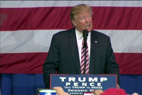 Donald Trump Says He'll Accept Election Results 'If I Win'