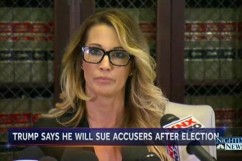 Donald Trump Vows To Sue His Accusers As Yet Another Woman Comes Forward