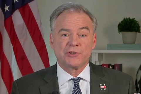 Kaine Shares Skepticism Over AT&T-Time Warner Merger