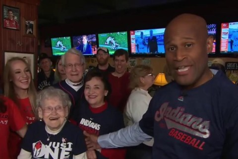 104-Year-Old Cleveland Indians Fan: 'Win One Before I Die!'