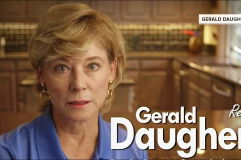 Candidate's Wife: Re-Elect Him Before He Drives Me Crazy