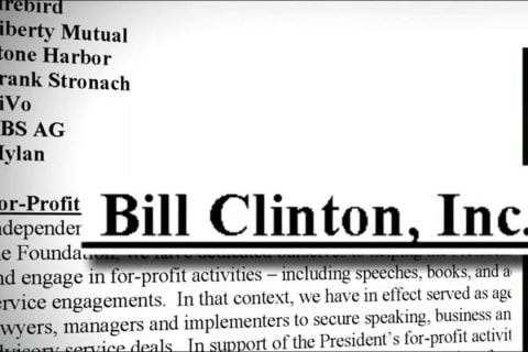Bill Clinton Made Millions Through Charitable Foundation, Memo Shows