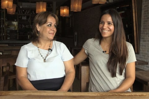 Jessica and Libia Sanchez Share Love of Food, Colombian Heritage