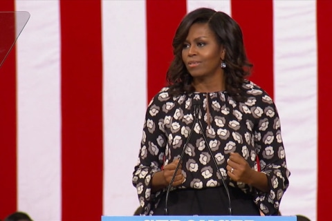 Michelle Obama Underscores Need for President 'Your Children Deserve'