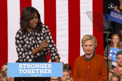 FLOTUS on Clinton: We've Never Had a More Qualified Candidate