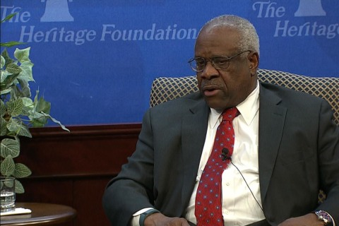Clarence Thomas Opens up on How He Writes Opinions