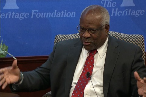 Clarence Thomas Discusses Whether The Supreme Court is Political