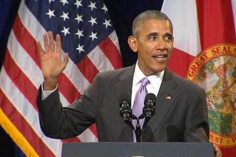 Obama: Call it 'Regancare…Ryancare…I Don't Care'