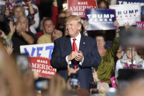 Watch Live: Donald Trump Holds Rally in Maine