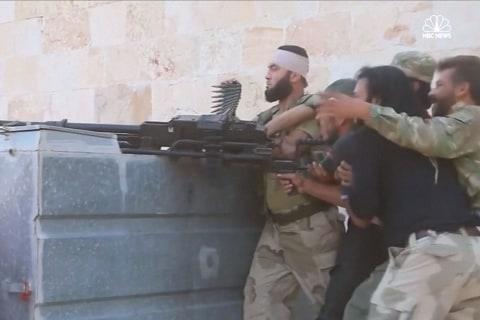 FSA Rebels Battle ISIS in Northern Aleppo