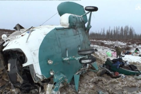 19 People Die in Helicopter Crash in Siberia