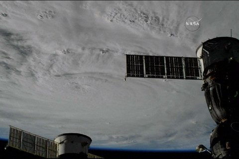 Hurricane Matthew as Seen From Space