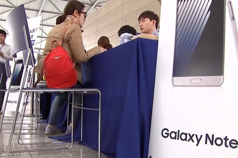 Galaxy Note 7 Users Offered Free Swap at Airports