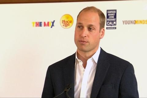 British Royals Mark World Mental Health Day