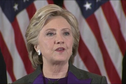 Watch Hillary Clinton's Full Concession Speech