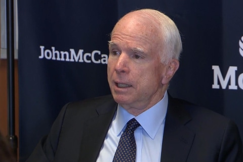 McCain Explains Why 'Obamacare Was Doomed to Fail'