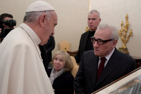 Pope Francis Meets Martin Scorsese and the Talk Is of Jesuits