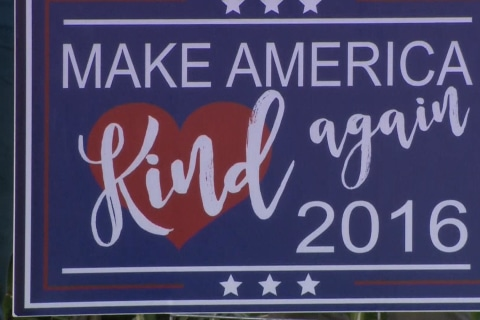 Make America 'Kind' Again Slogan Takes Off
