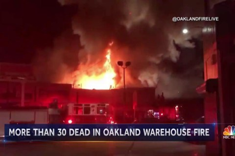 Death Toll From Oakland Warehouse Party Fire Climbs to 30